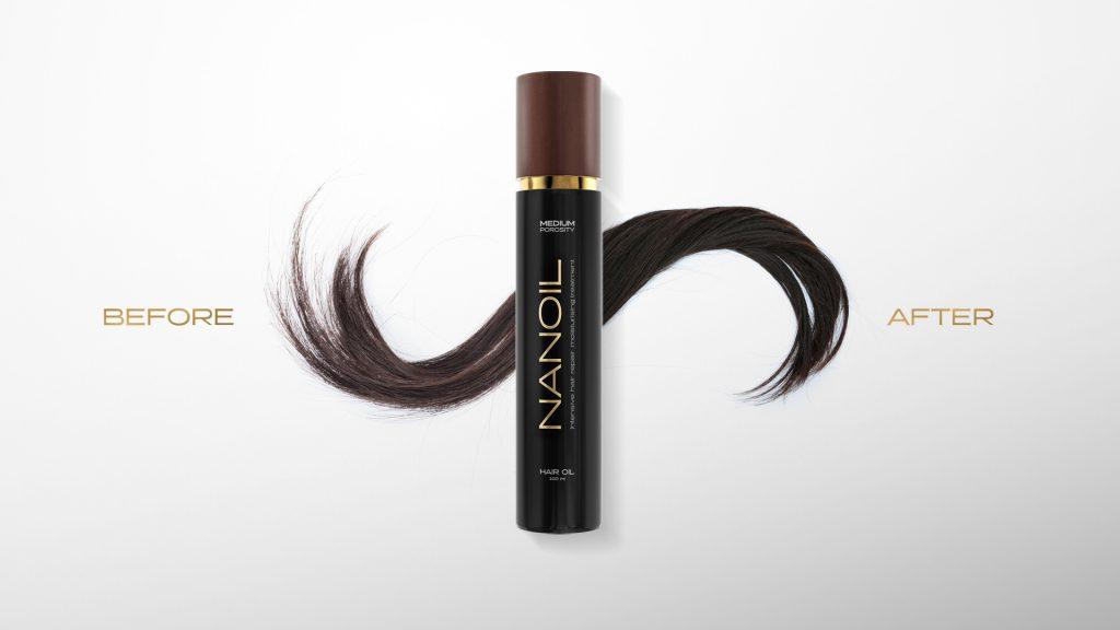 Olio per aiutare i tuoi capelli a crescere Nanoil
